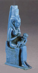 Egyptian Isis nursing 'Eru