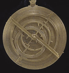 Antique four-ring astrolabe
