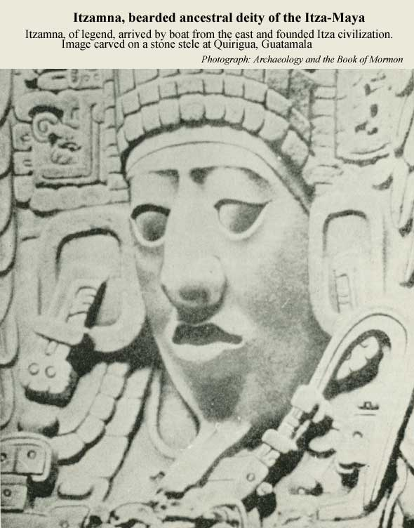 Itzamna, bearded ancestral deity of the Itza-Maya